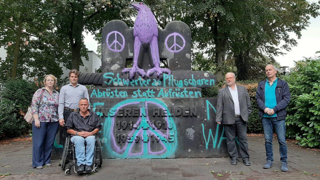 von links: Dr. Andrea Mörsen, Lutz Kühnen, Dirk Altenburg, Dr. Hans Hesse, Heinz Igel